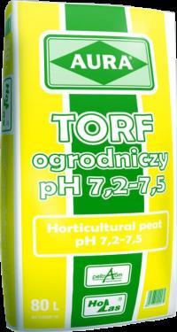 Torf ogrodniczy pH 7,2 - 7,5 Aura
