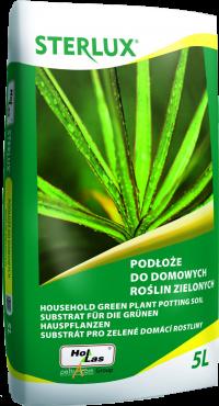 Podłoże do domowych roślin zielonych Sterlux