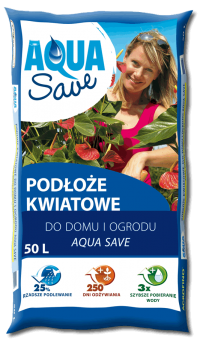 Podłoże kwiatowe Aqua Save